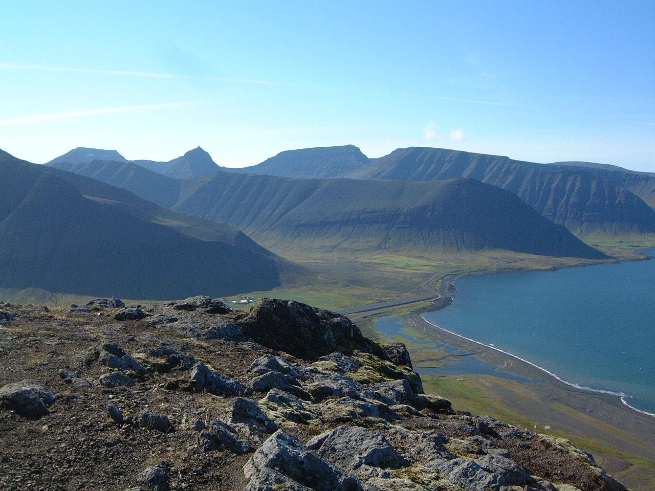 mynd af Kaldbakur á Vestfjörðum